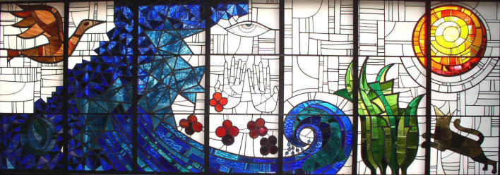 The Creation Window - Designed by Gillian Rees Thomas