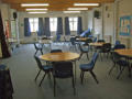 Small Hall - flexible arrangements of chairs and table,