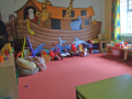 Creche - equipped with a wide range of suitable toys